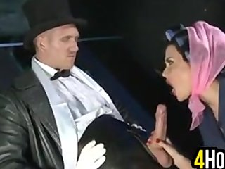 European Whore Enjoying A Thick Cock
