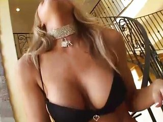 Nice blonde makes dreams cum true