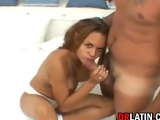 Brazilian Whore Having Sex