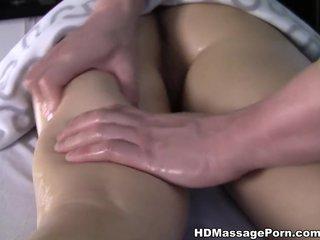 Cute babe Taiss gets orgasm by orgasm in mass